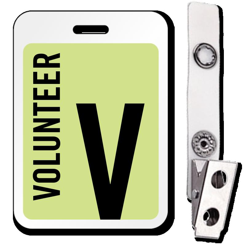 Visitor Badges Reusable Badges