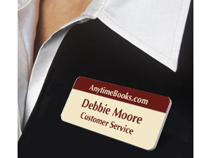 Engraved Name Tags Plastic Badges